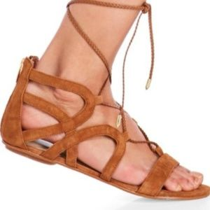 Marc Fisher Gladiator Sandals KAPRE Size 9 Zipper